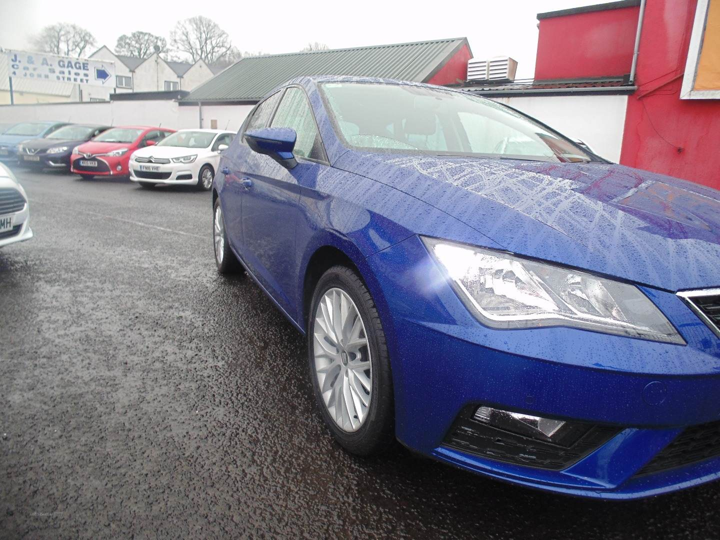 2019 Seat Leon 1.6  TDI  SE  Dynamic  [EZ]  5dr Diesel Manual  – Sam Creith Motors Ballymoney full