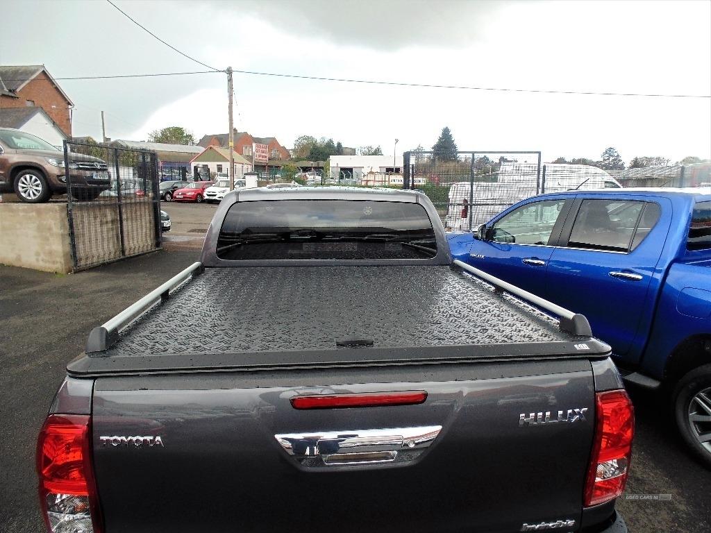 2020 Toyota Hilux Invincible  D/Cab  Pick  Up  D-4D  4WD    – Sam Creith Motors Ballymoney full