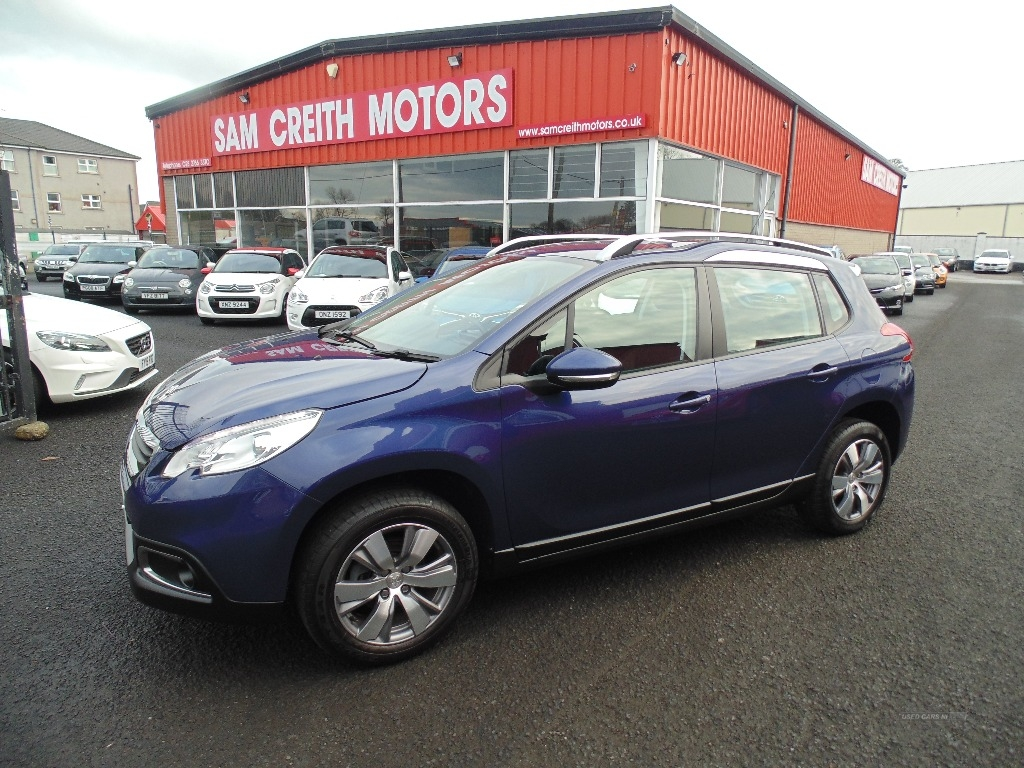 2015 Peugeot 2008 ACTIVE+++++LOW  TAX  BRACKET++F/S/H++++++ Petrol Manual  – Sam Creith Motors Ballymoney