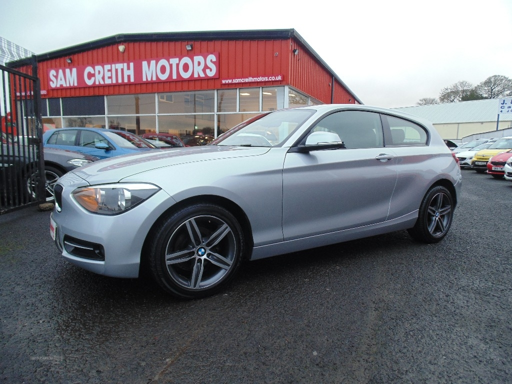 2013 BMW 1 Series 4I  SPORT++++3  DOOR+++ Petrol Manual  – Sam Creith Motors Ballymoney