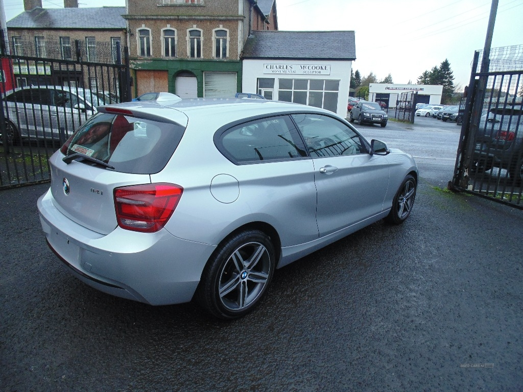 2013 BMW 1 Series 4I  SPORT++++3  DOOR+++ Petrol Manual  – Sam Creith Motors Ballymoney full