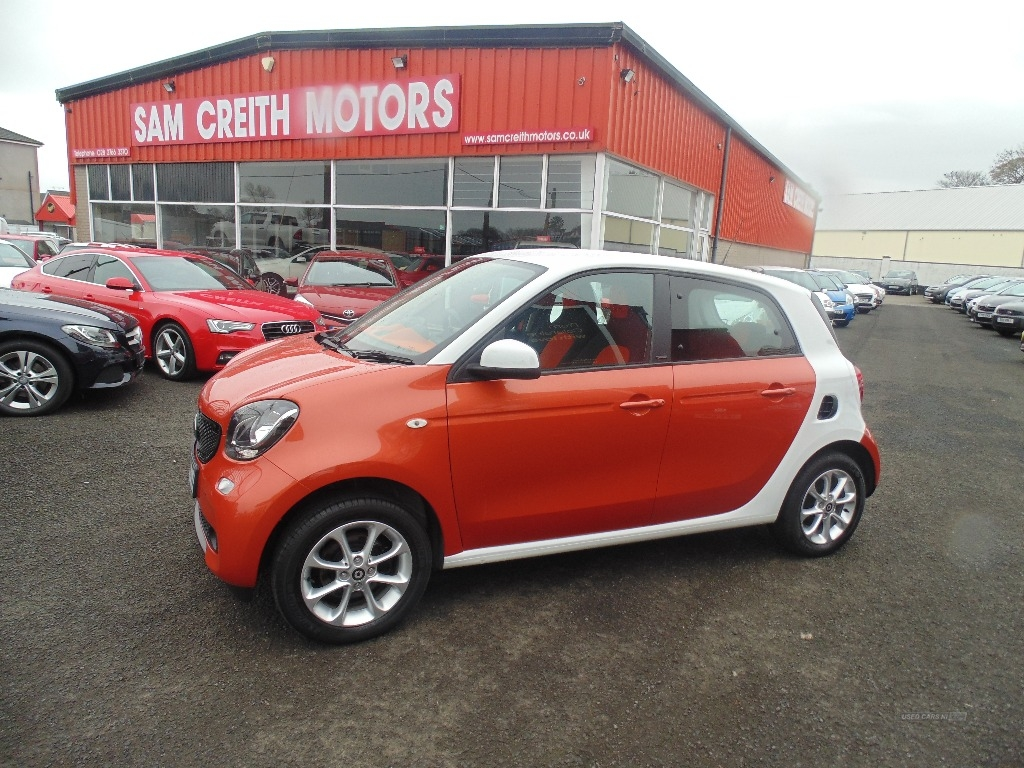 2015 Smart Forfour PASSION Petrol Manual  – Sam Creith Motors Ballymoney