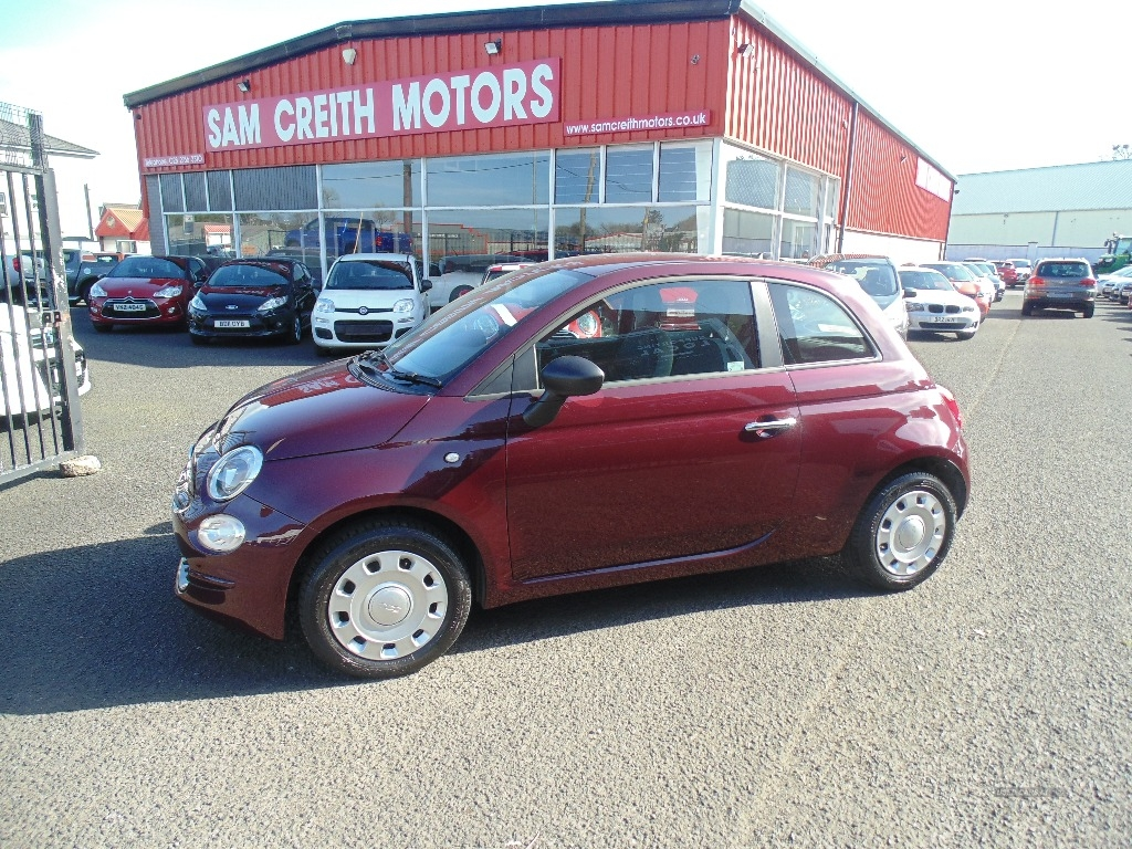 2016 Fiat 500 1.2  Pop  3dr Petrol Manual  – Sam Creith Motors Ballymoney