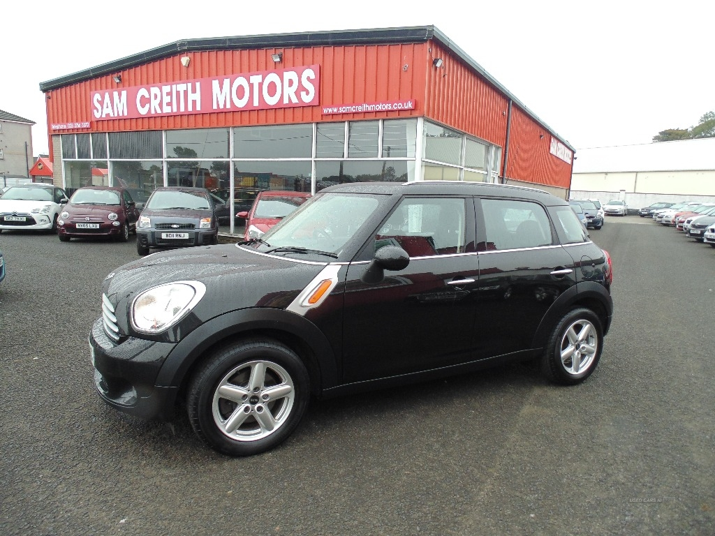 2013 MINI Countryman 1.6  Cooper  D  5dr Diesel Manual  – Sam Creith Motors Ballymoney