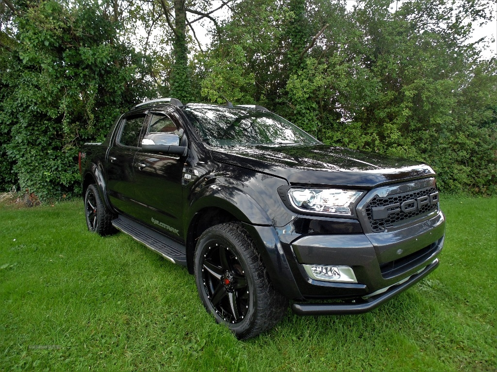 2016 Ford Ranger Pick  Up  Double  Cab  Wildtrak  3.2  TDCi  200  Auto Diesel Automatic/Other  – Sam Creith Motors Ballymoney