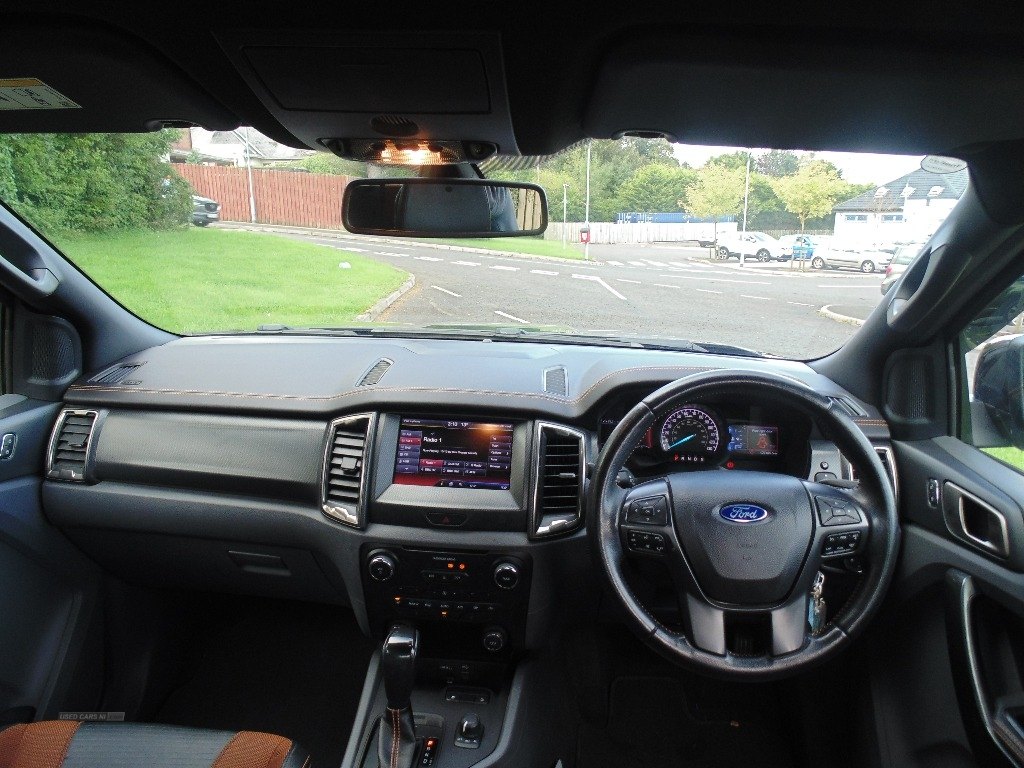 2016 Ford Ranger Pick  Up  Double  Cab  Wildtrak  3.2  TDCi  200  Auto Diesel Automatic/Other  – Sam Creith Motors Ballymoney full