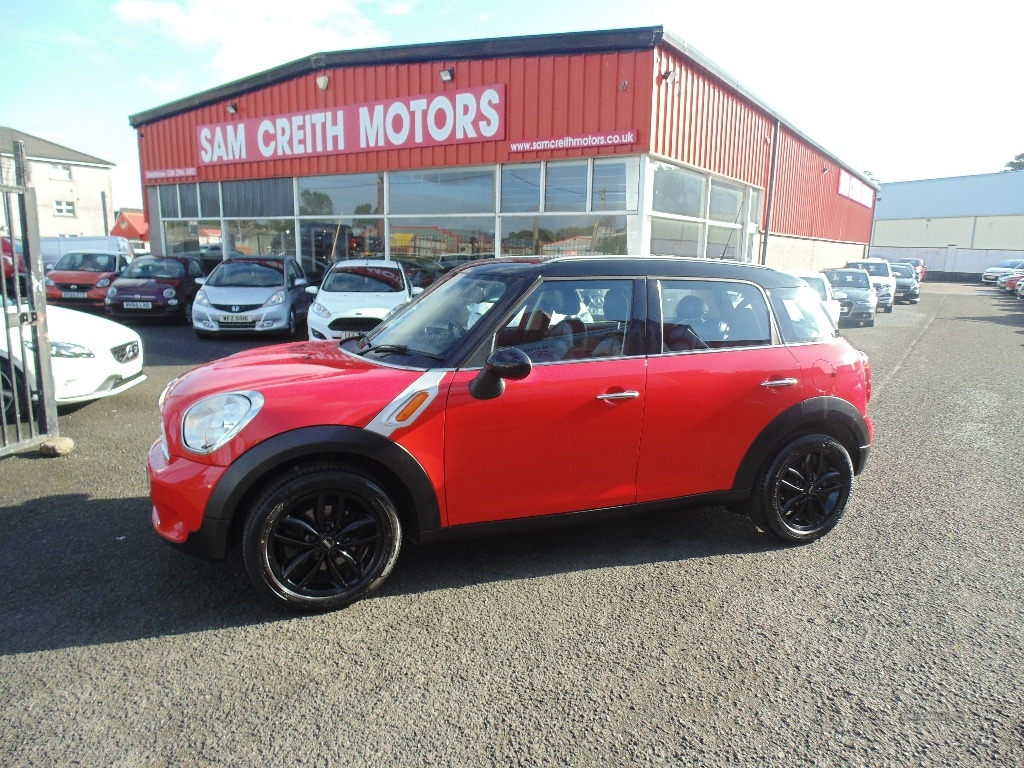 2012 MINI Countryman 1.6  Cooper  5dr Petrol Manual  – Sam Creith Motors Ballymoney