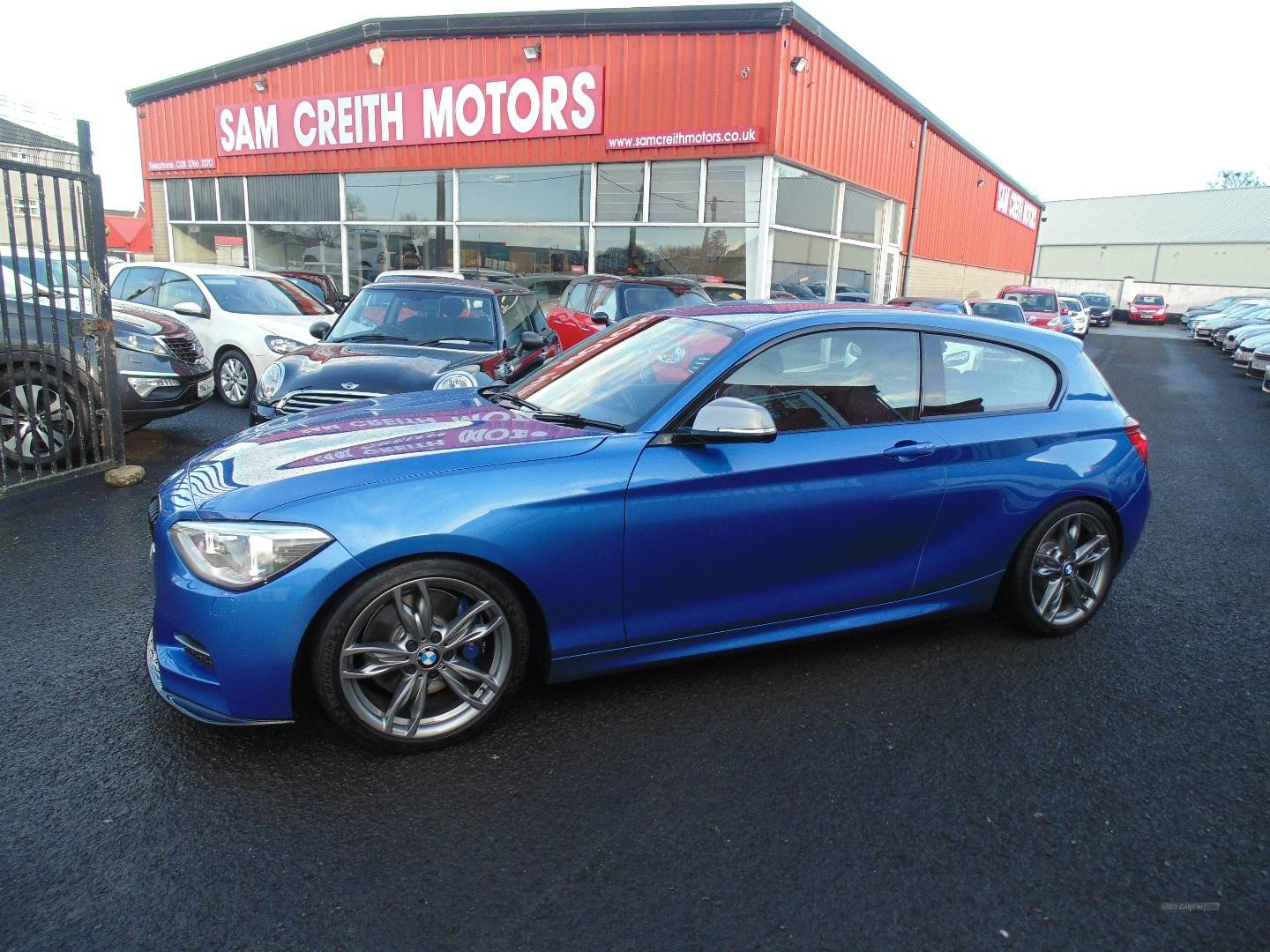 2013 BMW 1 Series M135i  M  Performance  3dr  Step  Auto Petrol Semi-Automatic  – Sam Creith Motors Ballymoney