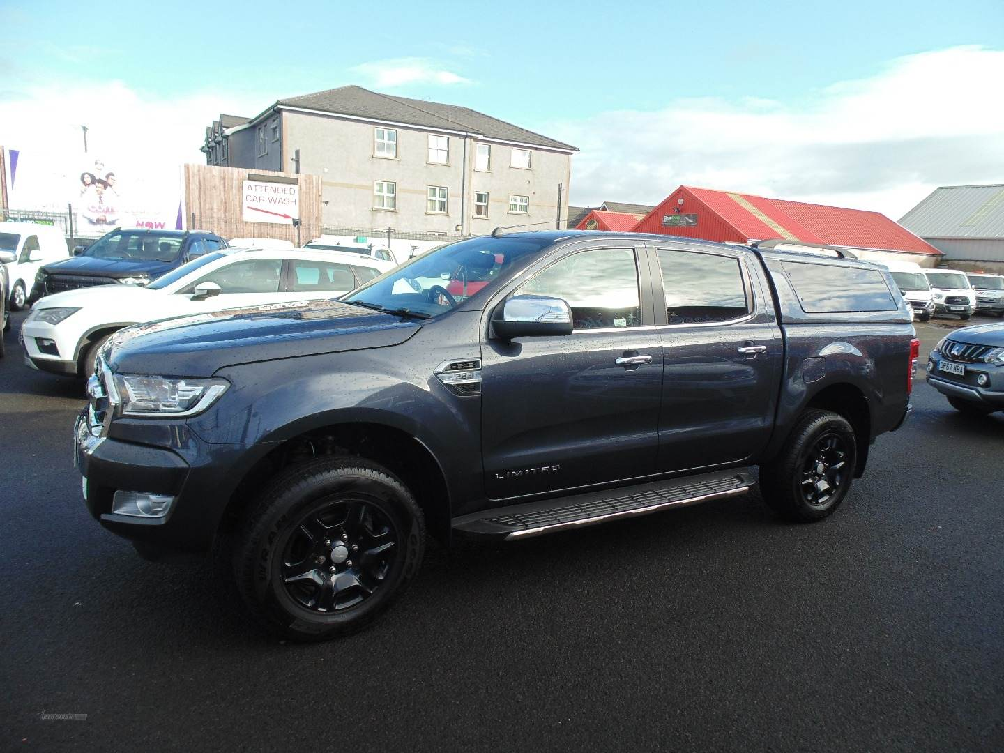 2019 Ford Ranger Pick  Up  Double  Cab  Limited  2  2.2  TDCi  Auto Diesel Automatic  – Sam Creith Motors Ballymoney