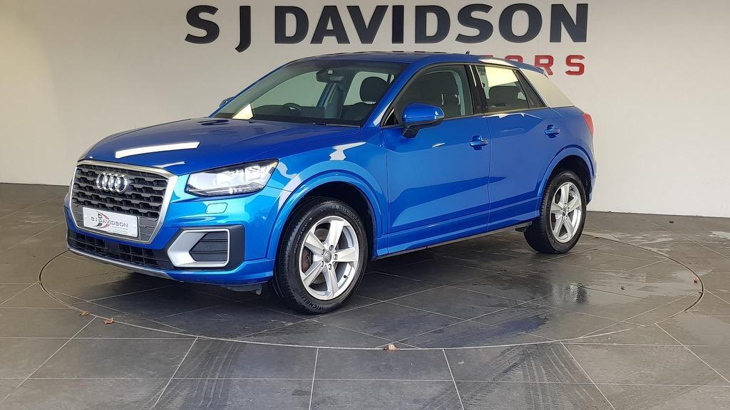 2018 AUDI Q2 1.6 TDI Sport SUV S Tronic Diesel Automatic Fully Colour Coded, Sat Nav – S J Davidson Motors Dungannon