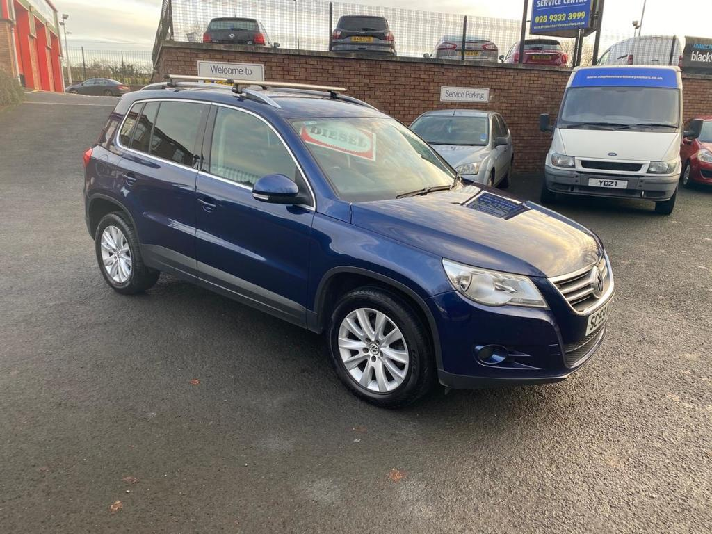 2010 Volkswagen Tiguan 2.0 SE TDI BLUEMOTION TECHNOLOGY Diesel Manual * FULL SERVICE HISTORY * – Stephen Mawhinney Motors Ballyclare