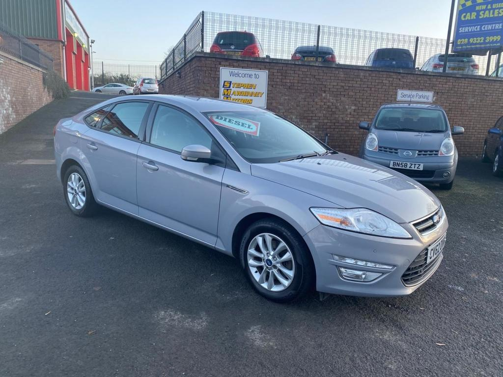 2012 Ford Mondeo 2.0 ZETEC TDCI Diesel Manual  – Stephen Mawhinney Motors Ballyclare
