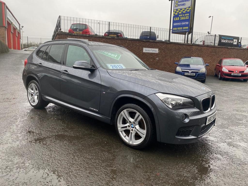 2013 BMW X1 L   2.0 XDRIVE20D M SPORT Diesel Manual FINANCE FROM £183.87 P/M £1700 DEPOSIT T&CS APPLY – Stephen Mawhinney Motors Ballyclare