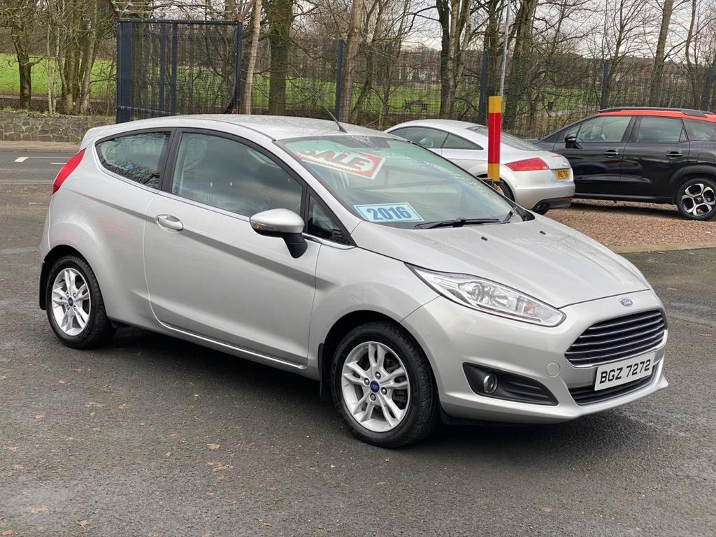 2016 Ford Fiesta 1.2 ZETEC Petrol Manual  – Stephen Mawhinney Motors Ballyclare
