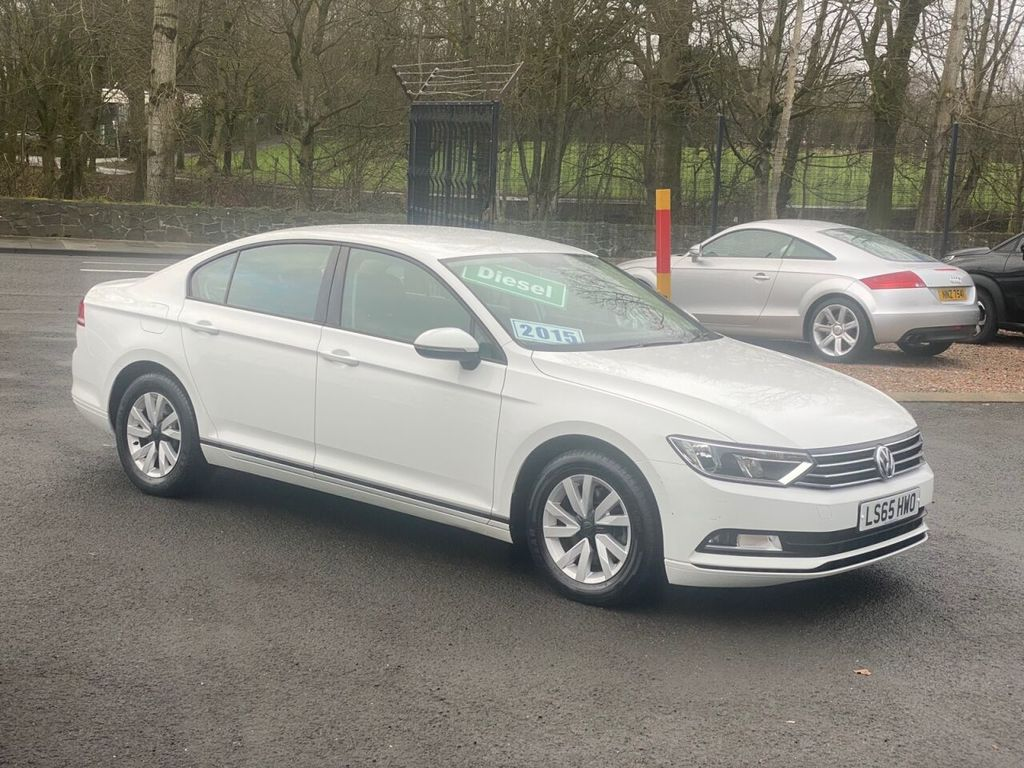 2015 Volkswagen Passat 1.6 S TDI BLUEMOTION TECHNOLOGY Diesel Manual  – Stephen Mawhinney Motors Ballyclare