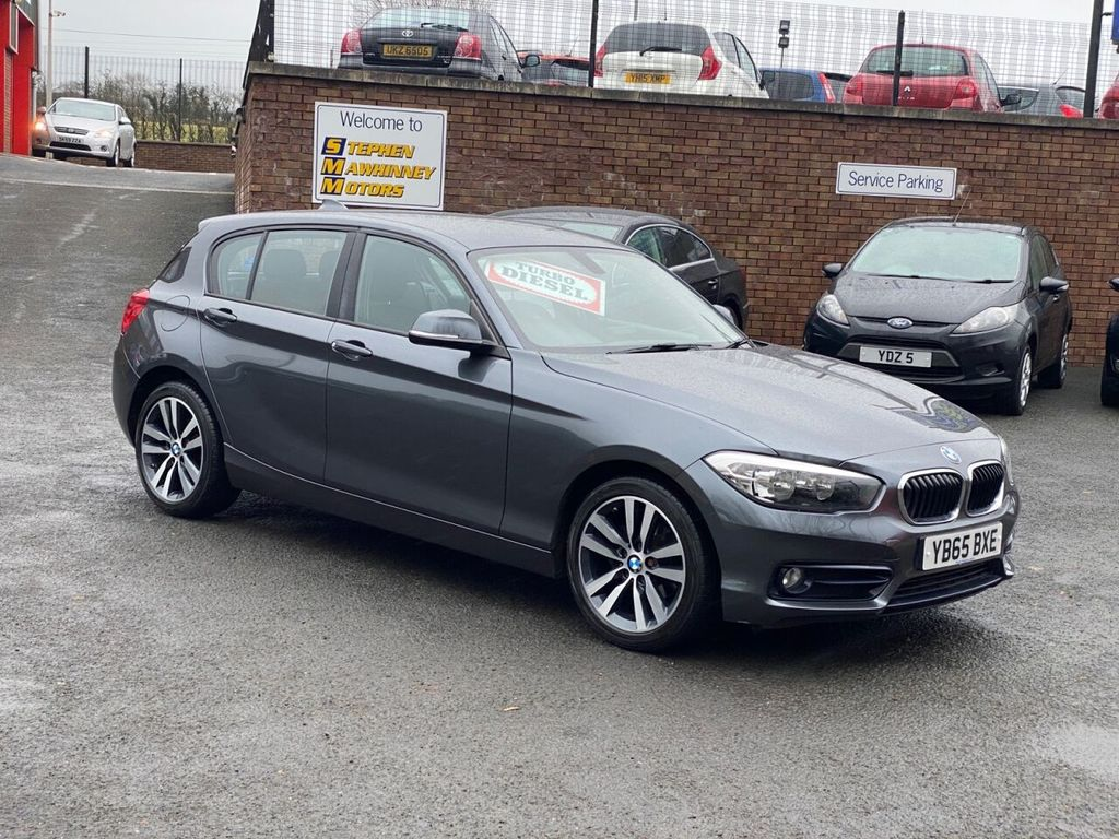 2016 BMW 1 Series 1.5 116D SPORT Diesel Manual  – Stephen Mawhinney Motors Ballyclare