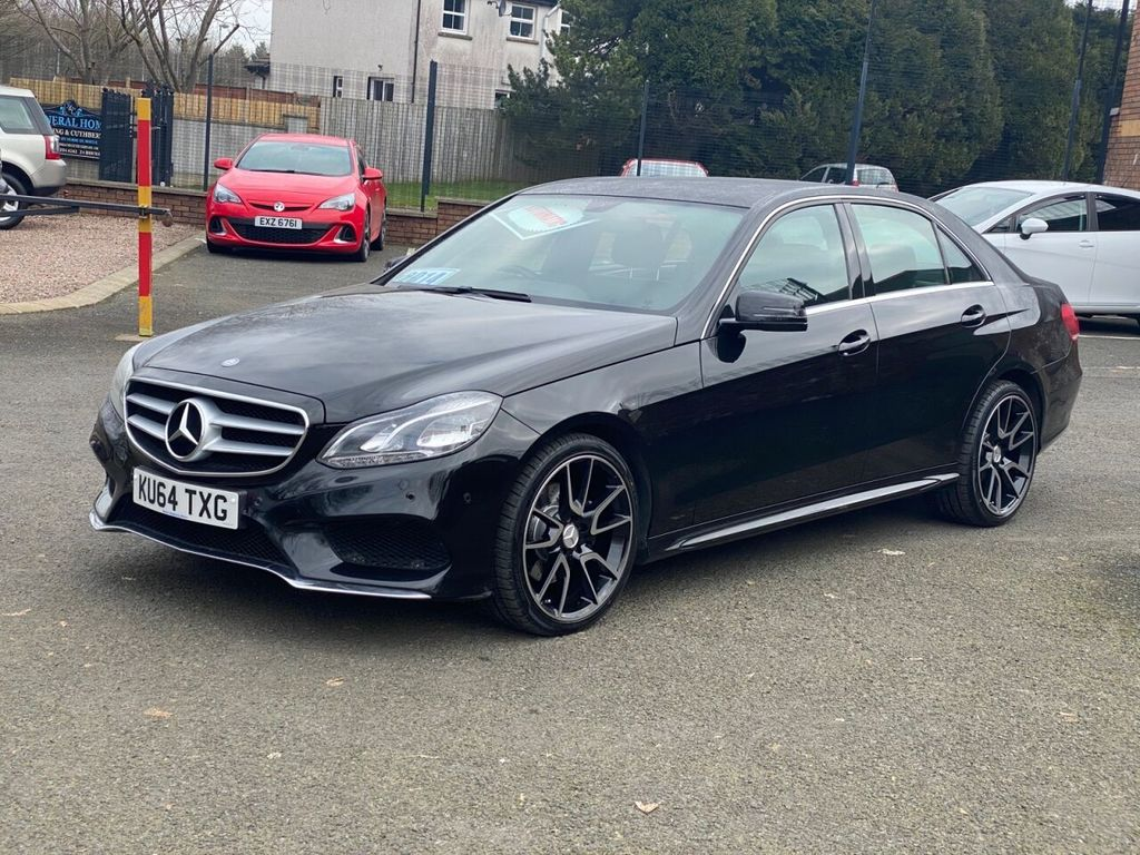 2014 Mercedes-Benz E Class 2.1 E220 CDI AMG SPORT Diesel Automatic  – Stephen Mawhinney Motors Ballyclare