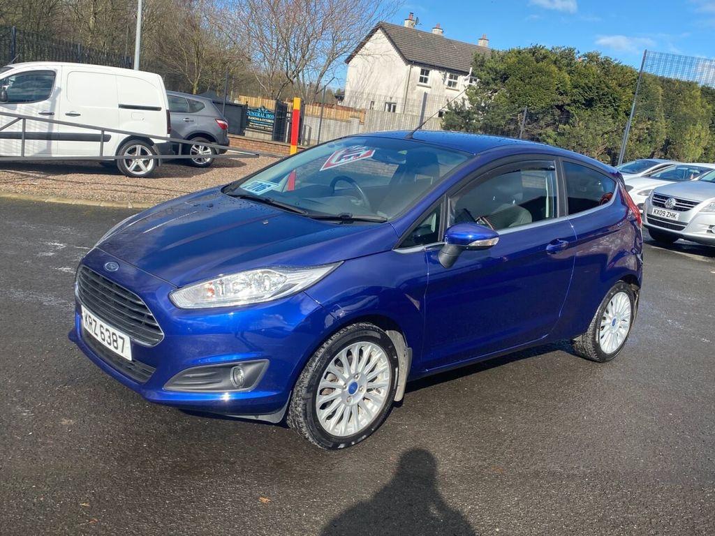 2016 Ford Fiesta 1.2 ZETEC Petrol Manual BLUETOOTH, FULL SERVICE HISTORY – Stephen Mawhinney Motors Ballyclare full
