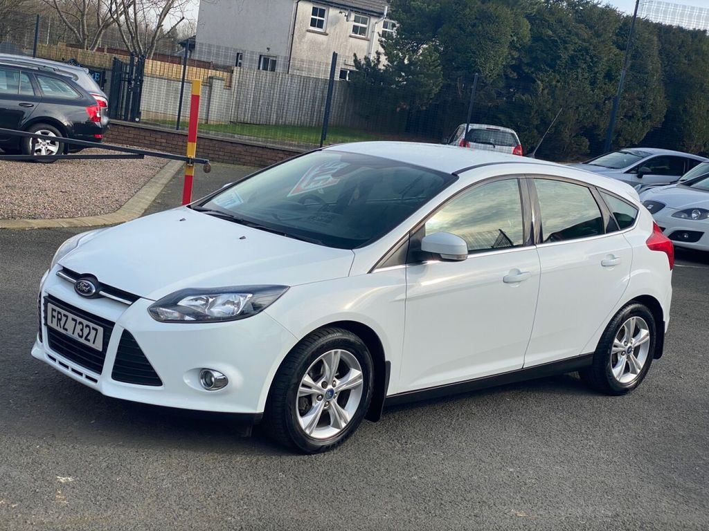 2013 Ford Focus 1.0 ZETEC Petrol Manual  – Stephen Mawhinney Motors Ballyclare