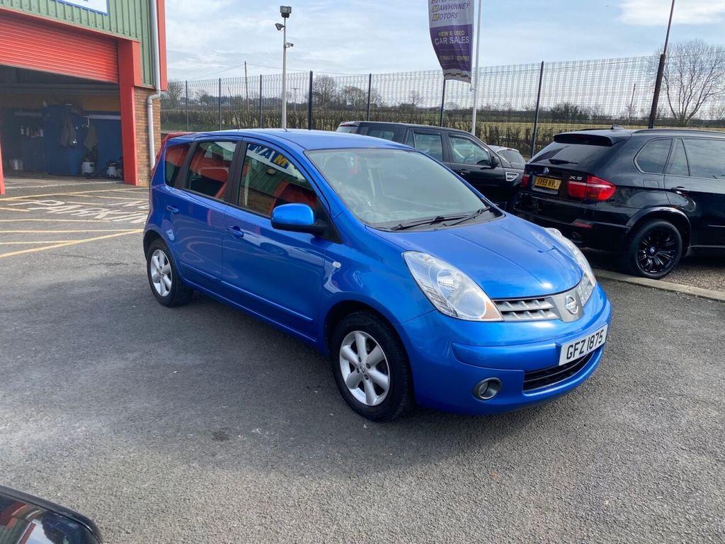 2008 Nissan Note  Petrol   – Stephen Mawhinney Motors Ballyclare