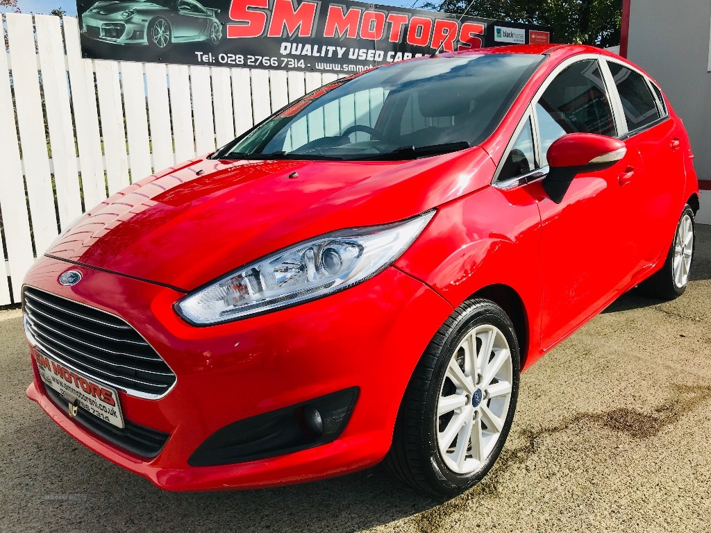 2017 Ford Fiesta 1.5  TDCi  Titanium  5dr Diesel Manual  – SM Motors Ballymoney