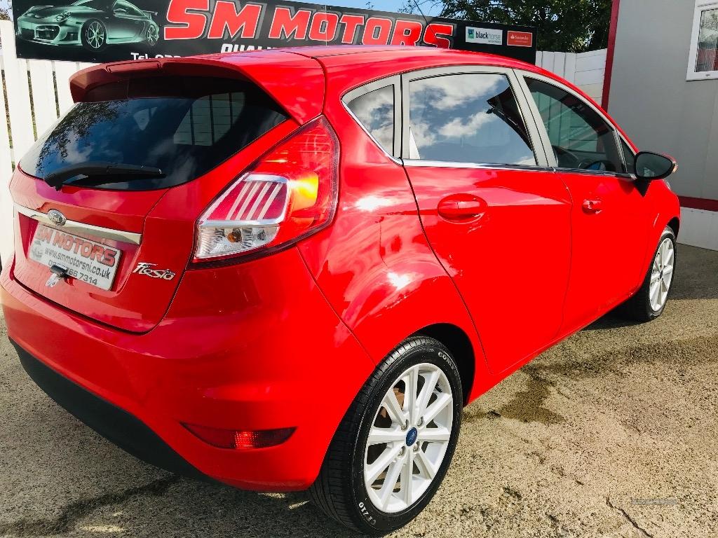 2017 Ford Fiesta 1.5  TDCi  Titanium  5dr Diesel Manual  – SM Motors Ballymoney full