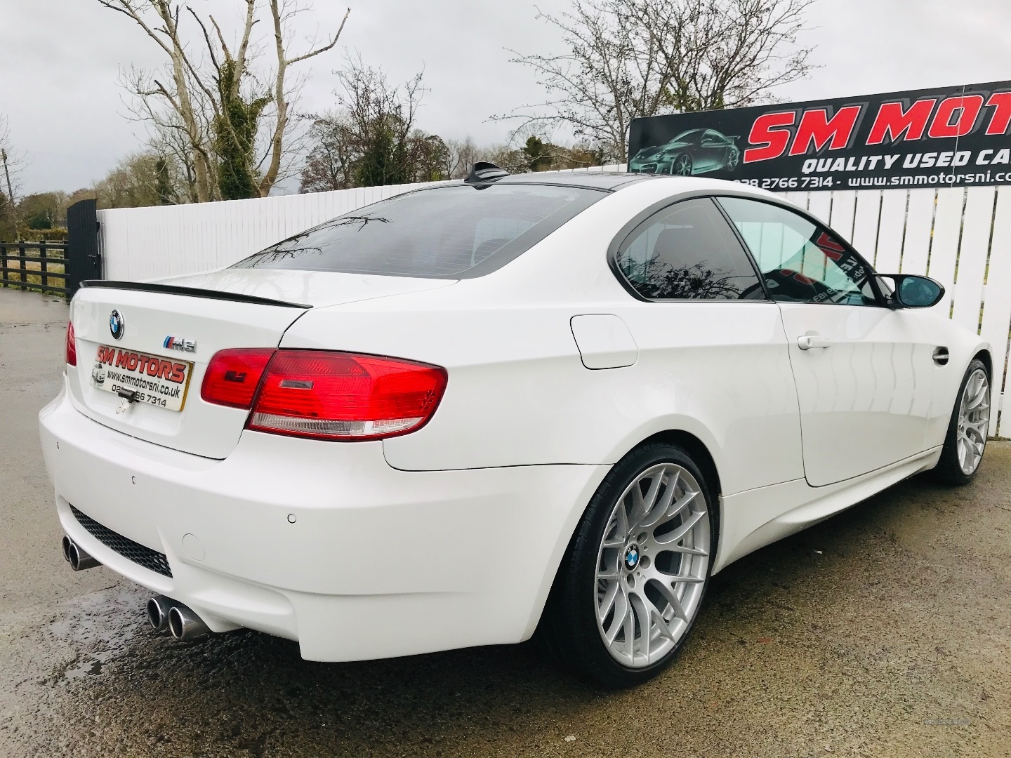 2007 BMW M3 2dr Petrol Manual  – SM Motors Ballymoney full