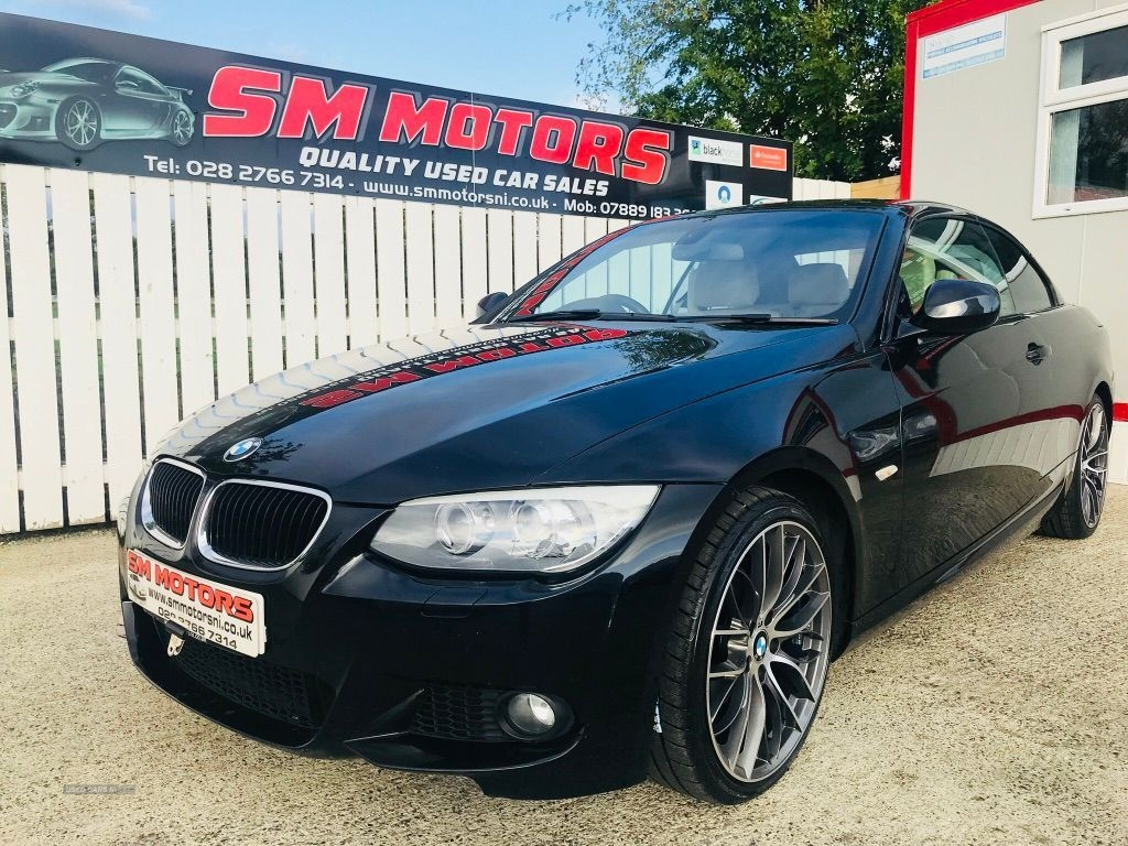 2011 BMW 3 Series 320d  M  Sport  2dr  Step  Auto Diesel Automatic  – SM Motors Ballymoney