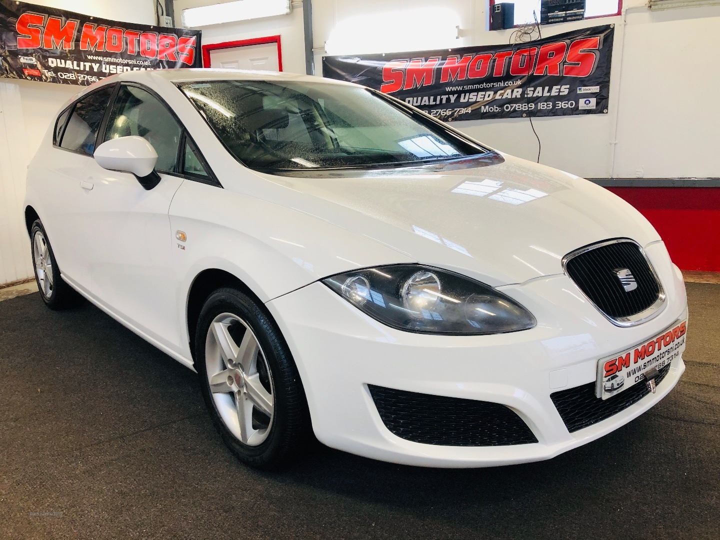 2011 Seat Leon 1.2  TSI  S  5dr  [6  speed] Petrol Manual  – SM Motors Ballymoney