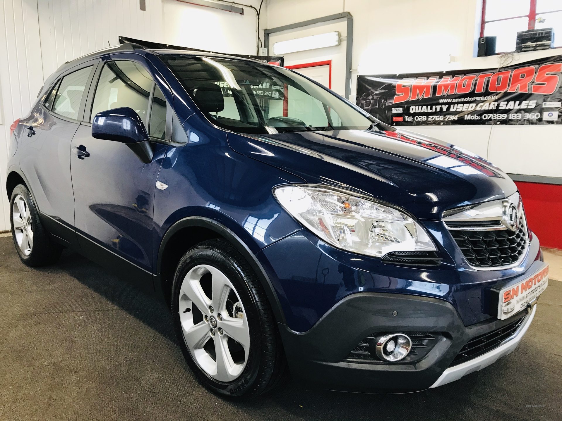 2014 Vauxhall Mokka 1.7  CDTi  Tech  Line  5dr Diesel Manual  – SM Motors Ballymoney