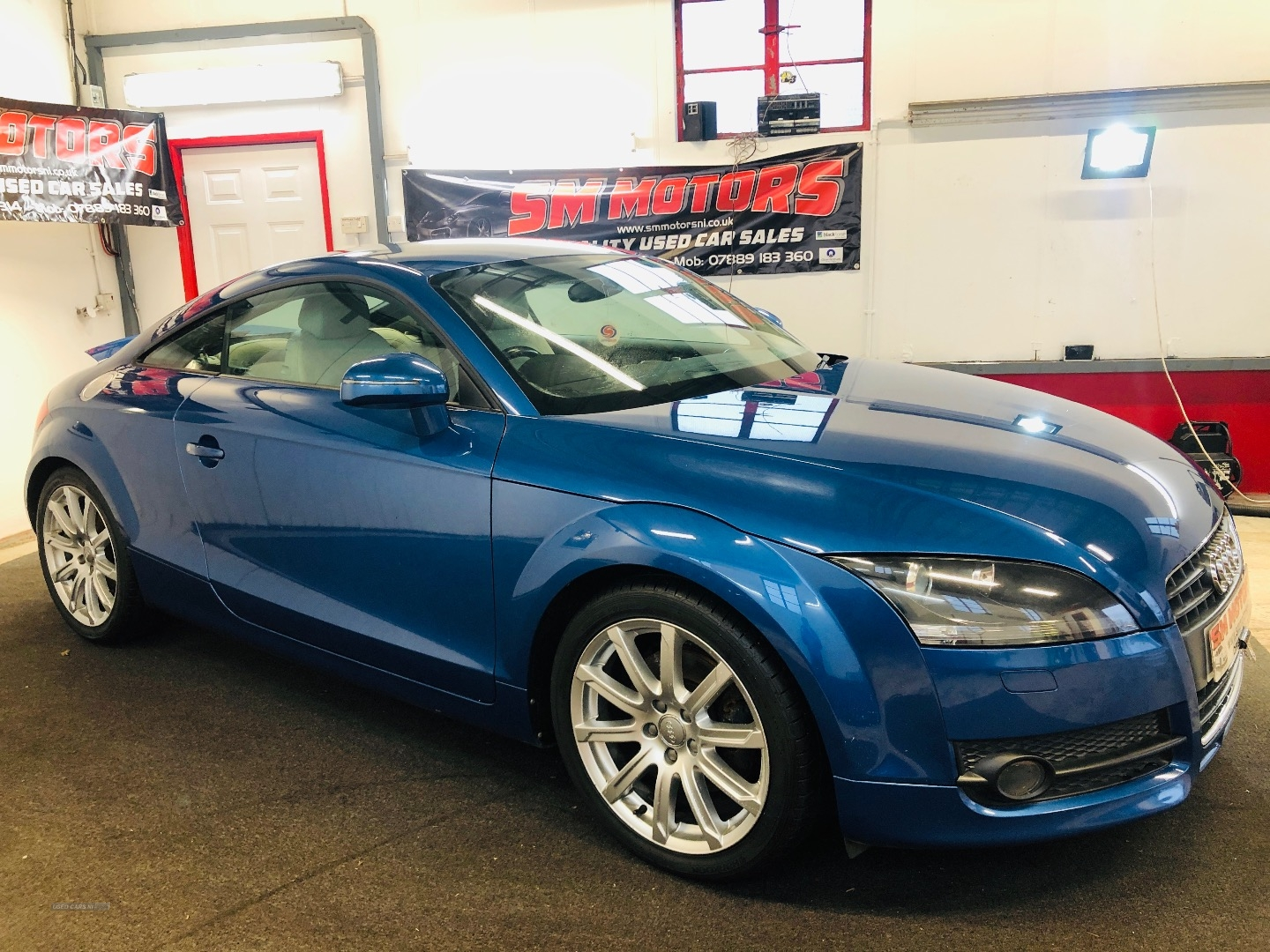 2008 Audi TT 2.0T  FSI  2dr Petrol Manual  – SM Motors Ballymoney