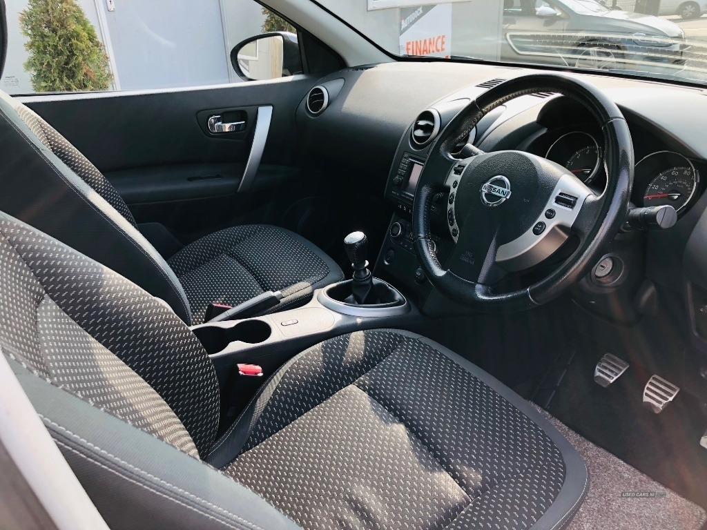 2010 Nissan Qashqai+2 2.0  N-Tec  5dr Petrol Manual  – The Autodock Larne full