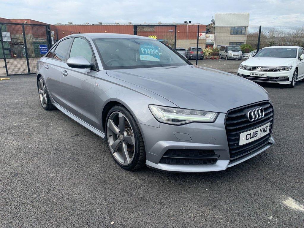 2016 Audi A6 2.0 TDI ULTRA BLACK EDITION Diesel Manual GENUINE A6 BLACK EDITION – Three Bridge Car Sales Derry