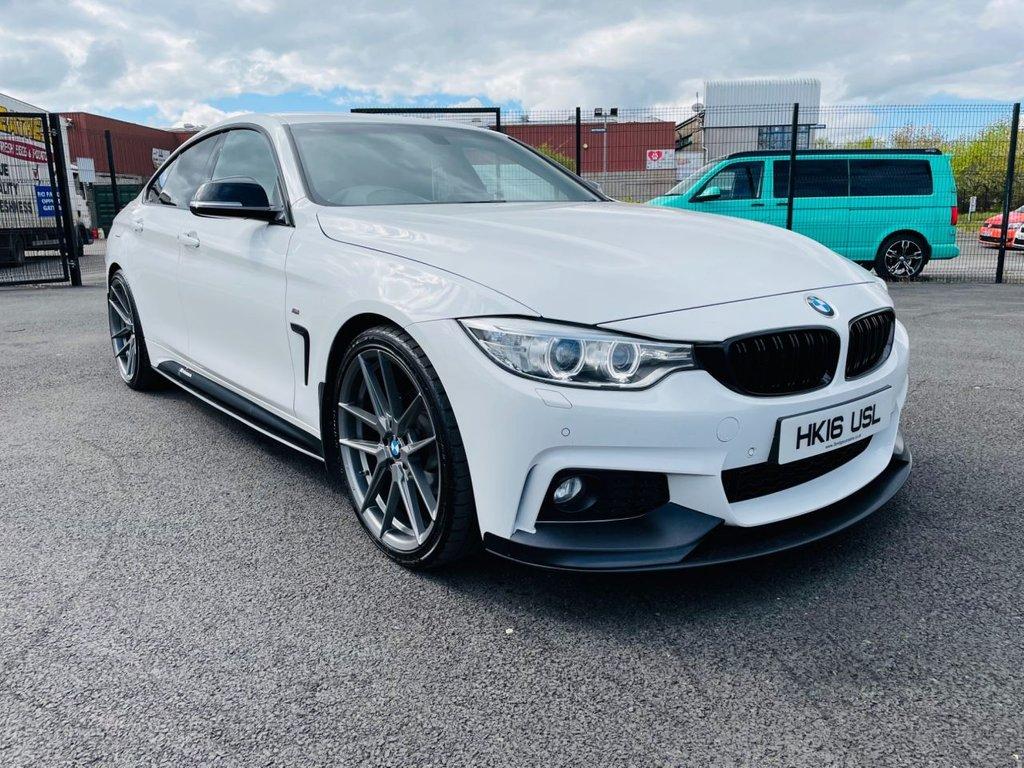 2016 BMW 4 Series 2.0 420D M SPORT GRAN COUPE Diesel Automatic  – Three Bridge Car Sales Derry