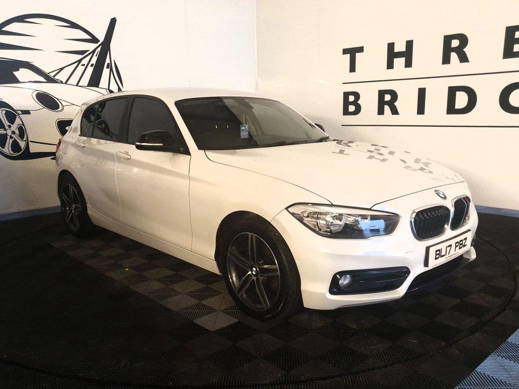 2017 BMW 1 Series 1.5 116D SPORT Diesel Manual LOW LOW MILEAGE – Three Bridge Car Sales Derry