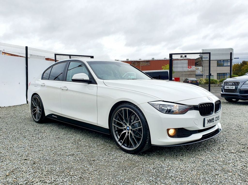 2015 BMW 3 Series 2.0 320D EFFICIENTDYNAMICS BUSINESS   M PERFORMANCE KITTED Diesel Manual FULL M PERFORMANCE PACK – Three Bridge Car Sales Derry