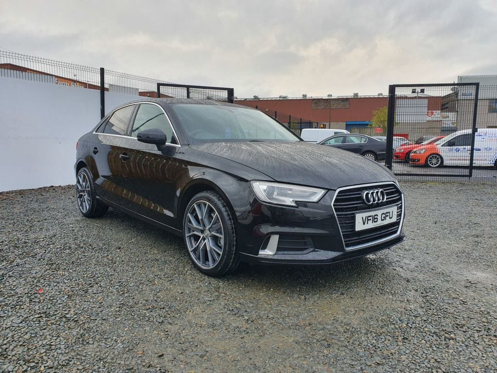 2016 Audi A3 1.6 TDI SPORT Diesel Manual FACELIFT MODEL AUDI A3 SPORT – Three Bridge Car Sales Derry