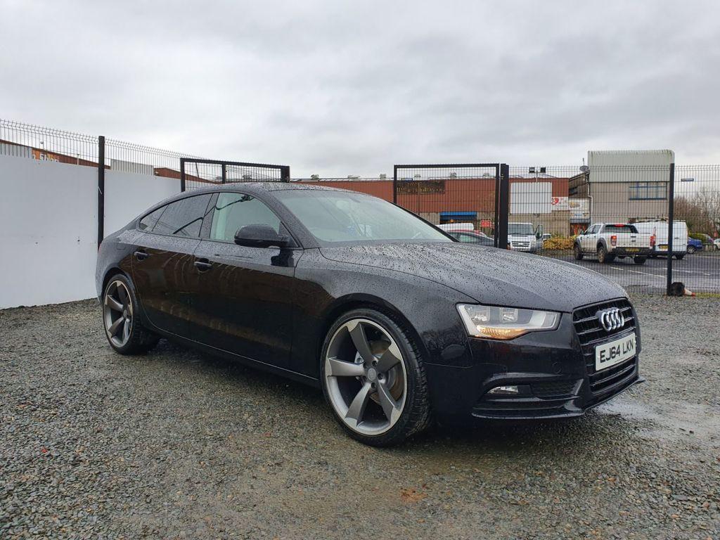 2014 Audi A5 2.0 SPORTBACK TDI SE TECHNIK Diesel Manual BLACK EDITION STYLING – Three Bridge Car Sales Derry