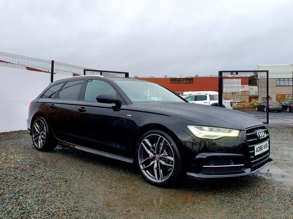 2016 Audi A6 2.0 AVANT TDI ULTRA S LINE Diesel Semi Auto BLACK EDITION STYLING – Three Bridge Car Sales Derry