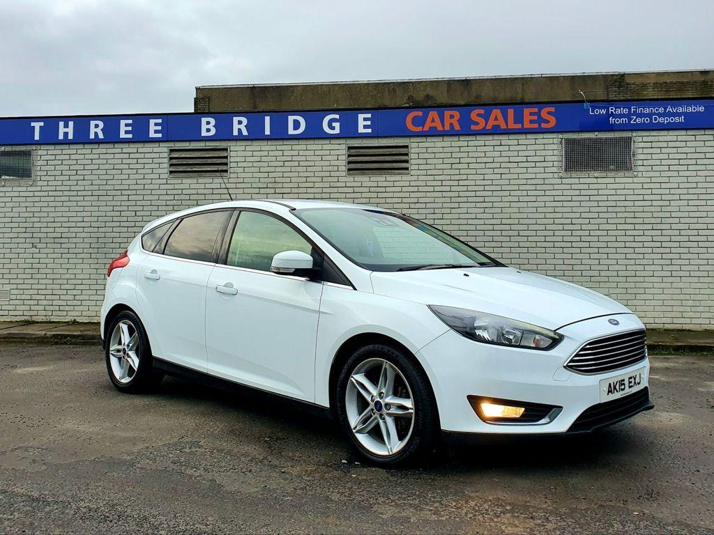 2015 Ford Focus 1.6 TITANIUM TDCI Diesel Manual TOP SPEC TITANIUM MODEL – Three Bridge Car Sales Derry