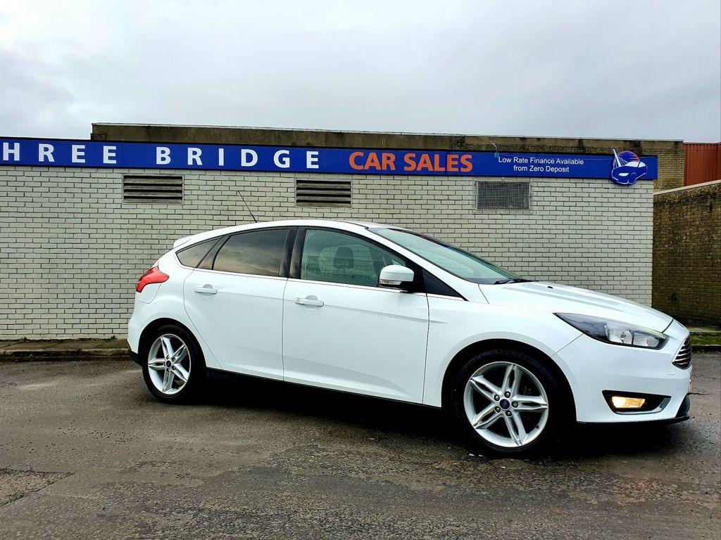 2015 Ford Focus 1.6 TITANIUM TDCI Diesel Manual TOP SPEC TITANIUM MODEL – Three Bridge Car Sales Derry full