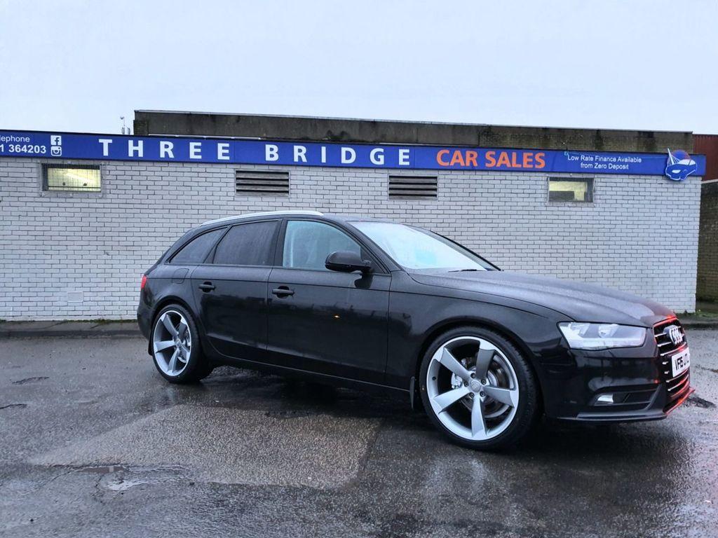2015 Audi A4 2.0 AVANT TDI ULTRA TECHNIK   BLACK EDITION STYLE Diesel Manual BLACK EDITION STYLING – Three Bridge Car Sales Derry