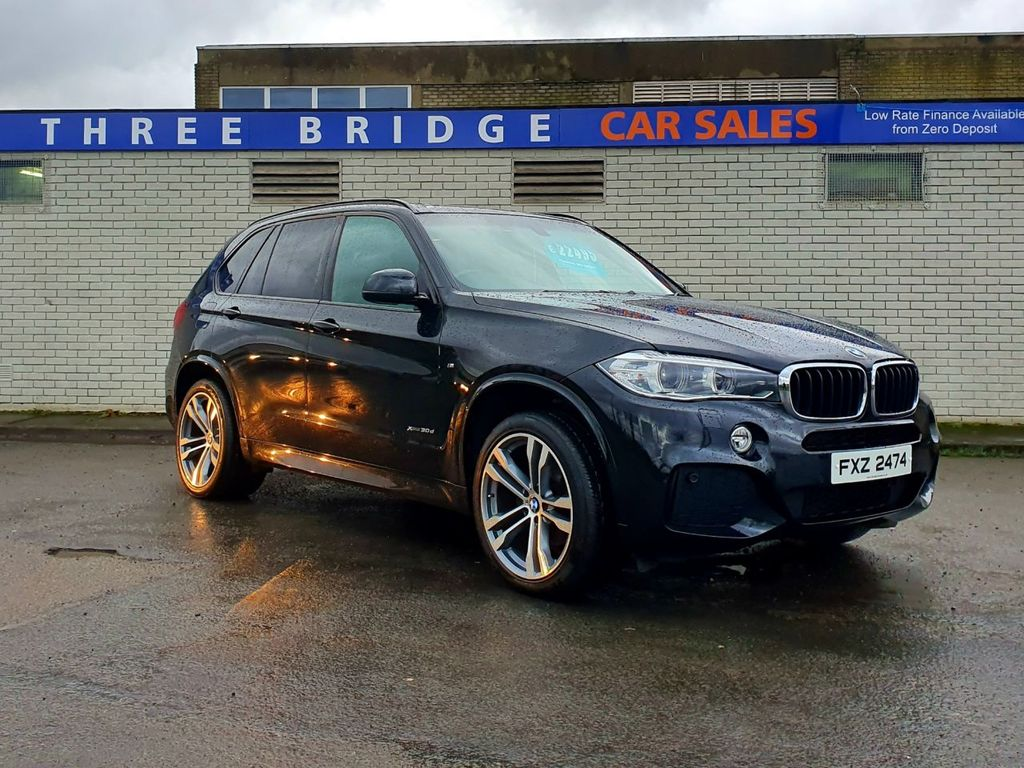 2013 BMW X5 D   3.0 XDRIVE30D M SPORT Diesel Automatic BEAUTIFUL NEW MODEL X5 M SPORT – Three Bridge Car Sales Derry