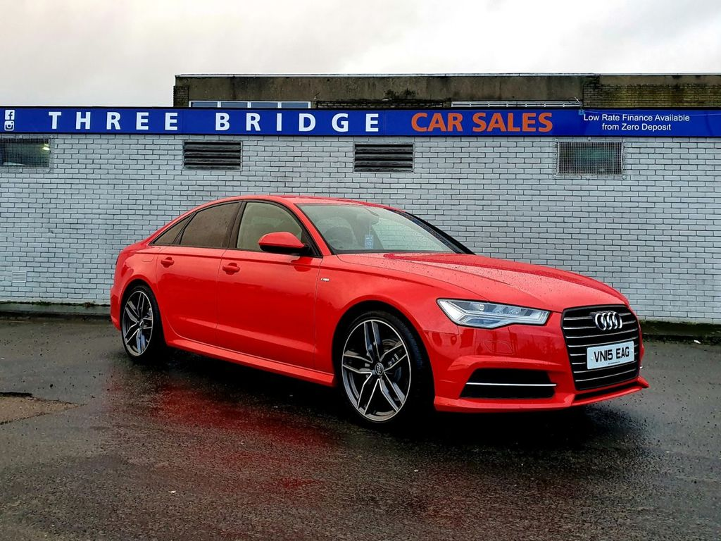 2015 Audi A6 2.0 TDI ULTRA S LINE Diesel Manual LOW LOW MILEAGE 40K MILES – Three Bridge Car Sales Derry