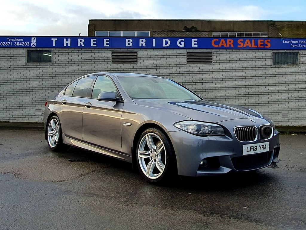 2013 BMW 5 Series 2.0 520D M SPORT Diesel Automatic BEAUTIFUL 1 OWNER BMW 520D M SPORT – Three Bridge Car Sales Derry
