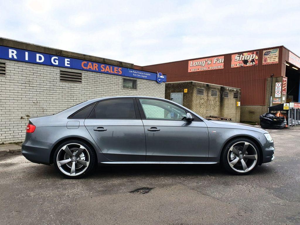 2012 Audi A4 2.0 TDI S LINE Diesel Manual STUNNING DAYTONA GREY S LINE BLACK EDITION STYLING – Three Bridge Car Sales Derry full