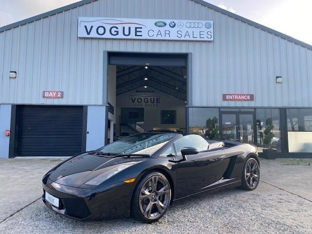 2006 Lamborghini Gallardo V   5.0 V10 SPYDER Petrol Semi Auto  – Vogue Car Sales Derry City