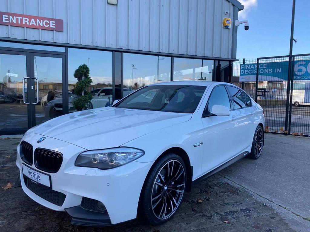 2012 BMW 5 Series 2.0 520D M SPORT Diesel Automatic  – Vogue Car Sales Derry City