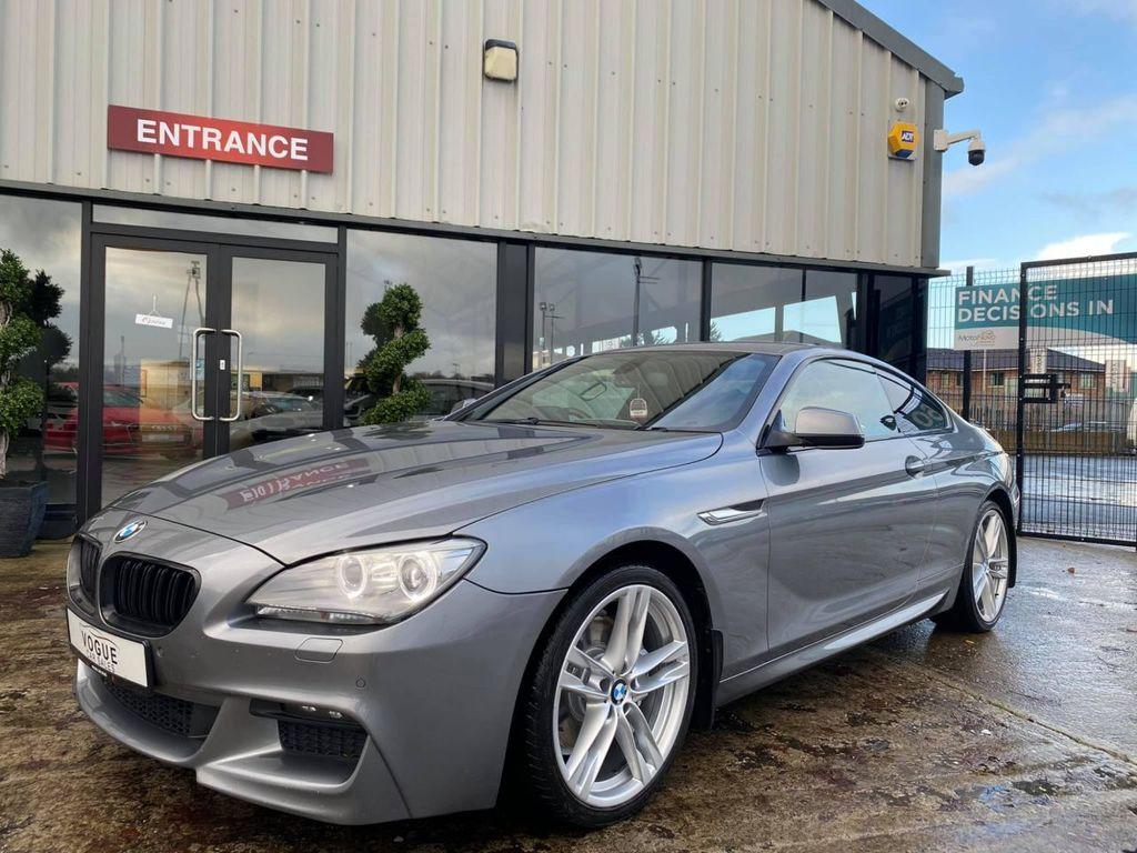 2012 BMW 6 Series 3.0 640D M SPORT Diesel Automatic  – Vogue Car Sales Derry City