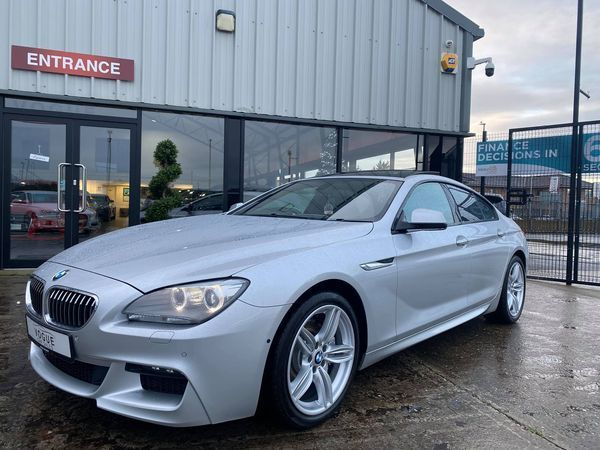2012 BMW 6 Series 3.0 640D M SPORT GRAN COUPE Diesel Automatic  – Vogue Car Sales Derry City